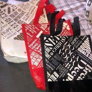 •3 Lululemon small reusable bags
